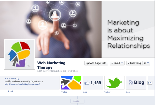 Web Marketing Facebook