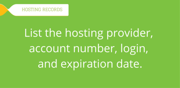 What-hosting-information-do-you-need