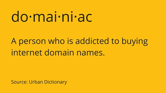 Definition-of-Domainiac