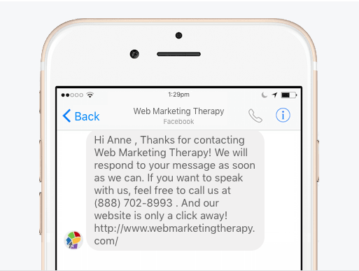 Facebook Tip: Setting Up an Auto Reply on Facebook Messenger